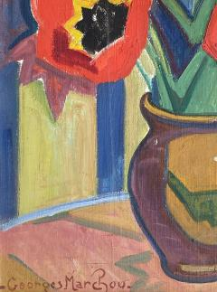 Georges Marchou Poppies and Tulips  - 1938658