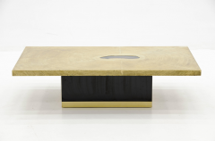 Georges Mathias Etched brass coffee Table by Georges Mathias - 789946