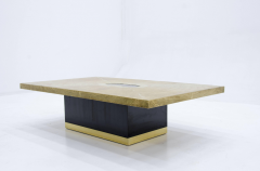 Georges Mathias Etched brass coffee Table by Georges Mathias - 789947