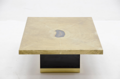 Georges Mathias Etched brass coffee Table by Georges Mathias - 789948