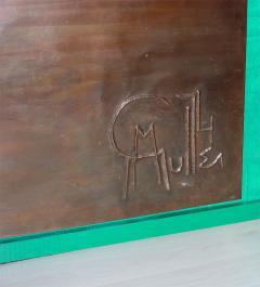 Georges Muller Decorative Copper Panel - 730574