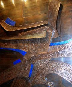 Georges Muller Decorative Copper Panel - 730578