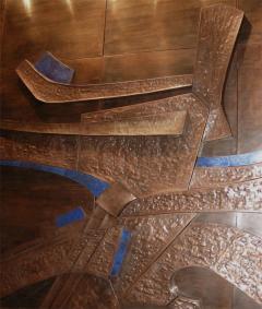Georges Muller Decorative Copper Panel - 730584