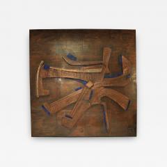 Georges Muller Decorative Copper Panel - 731067