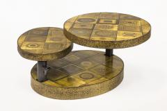 Georges Pelletier Georges Pelletier Ceramic Coffee Table for Roche Bobois circa 1970 France - 1031785