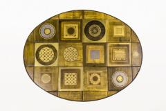 Georges Pelletier Georges Pelletier Ceramic Coffee Table for Roche Bobois circa 1970 France - 1031787