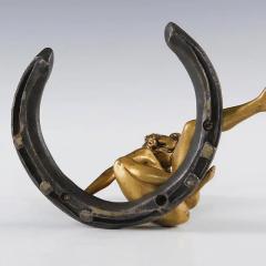 Georges R cipon French Art Nouveau Gilt Bronze Desk Weight by Georges Recipon - 1041901