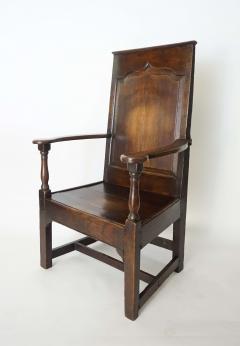 Georgian Elm Wainscot Chair - 1132919