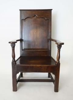 Georgian Elm Wainscot Chair - 1132920