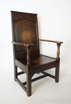 Georgian Elm Wainscot Chair - 1132922