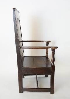 Georgian Elm Wainscot Chair - 1132924