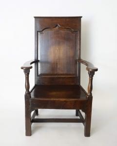 Georgian Elm Wainscot Chair - 1132925