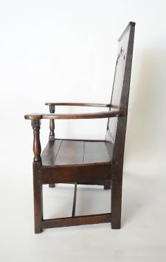 Georgian Elm Wainscot Chair - 1132926