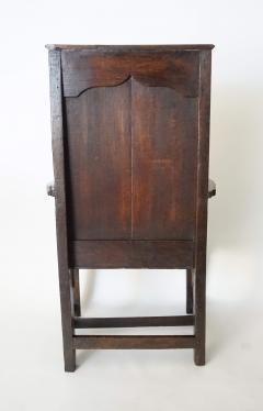 Georgian Elm Wainscot Chair - 1132929
