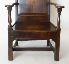 Georgian Elm Wainscot Chair - 1132930