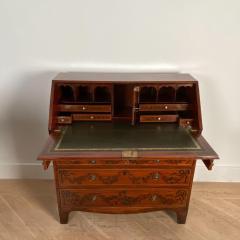 Georgian Fancy Painted Slant Front Desk England Circa Early 19th Century - 1402198
