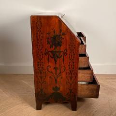 Georgian Fancy Painted Slant Front Desk England Circa Early 19th Century - 1402201