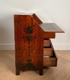 Georgian Fancy Painted Slant Front Desk England Circa Early 19th Century - 1402202