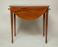 Georgian Inlaid Mahogany Pembroke Table - 660201