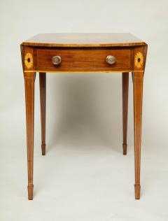 Georgian Inlaid Mahogany Pembroke Table - 660203
