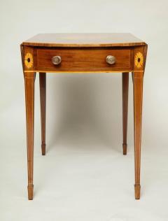 Georgian Inlaid Mahogany Pembroke Table - 660203