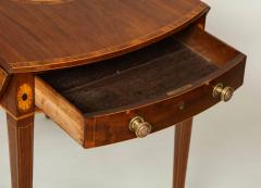 Georgian Inlaid Mahogany Pembroke Table - 660206