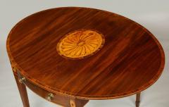 Georgian Inlaid Mahogany Pembroke Table - 660207