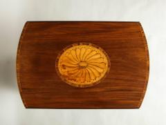Georgian Inlaid Mahogany Pembroke Table - 660208