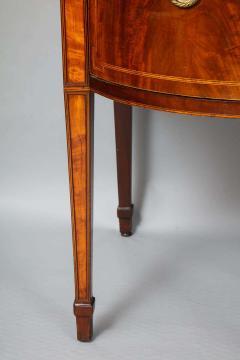 Georgian Mahogany and Satinwood Sideboard - 1315359