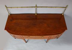 Georgian Mahogany and Satinwood Sideboard - 1315369