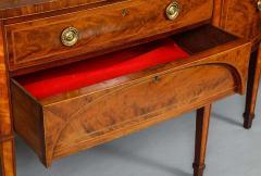 Georgian Mahogany and Satinwood Sideboard - 1315371