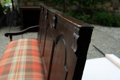 Georgian Oak Settle Bench circa 1780 - 1695479