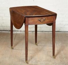 Georgian Oval Mahogany Pembroke Table - 1957778