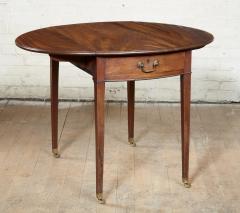 Georgian Oval Mahogany Pembroke Table - 1957779