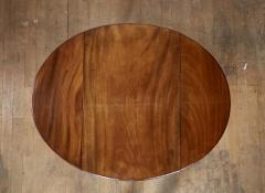 Georgian Oval Mahogany Pembroke Table - 1957780