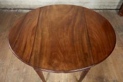 Georgian Oval Mahogany Pembroke Table - 1957781