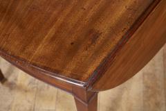 Georgian Oval Mahogany Pembroke Table - 1957782