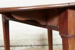 Georgian Oval Mahogany Pembroke Table - 1957786