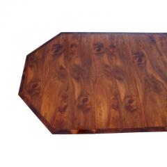Georgian Style Walnut Three Pedestal Dining Table - 1532670