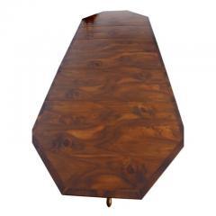 Georgian Style Walnut Three Pedestal Dining Table - 1532678