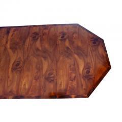Georgian Style Walnut Three Pedestal Dining Table - 1532679