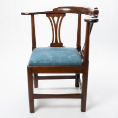 Georgian mahogany corner chair - 1723310