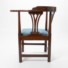 Georgian mahogany corner chair - 1723313