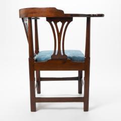 Georgian mahogany corner chair - 1723315