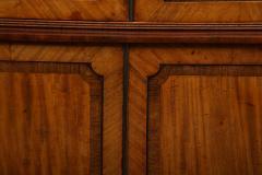Georgian mahogany linen press - 1357654