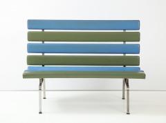 Gerald McCabe Gerald McCabe Slat Settee for Pacific Furniture - 1109037