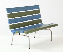 Gerald McCabe Gerald McCabe Slat Settee for Pacific Furniture - 1109039