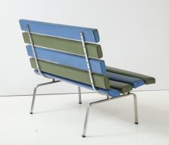 Gerald McCabe Gerald McCabe Slat Settee for Pacific Furniture - 1109041