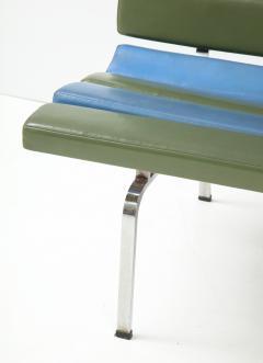 Gerald McCabe Gerald McCabe Slat Settee for Pacific Furniture - 1109048