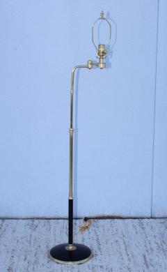Gerald Thurston 1950s Adjustable Height Brass Floor Lamps Attributed To Gerald Thurston - 1794338